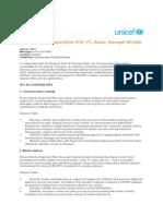 Publication Avis de Vacance Communication Specialist (P4), FT, Dakar, Senegal WCARO