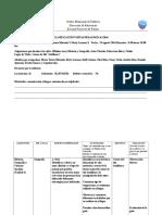 Pauta de Planificacion salida pedagogica 3°años