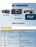 Samsung Max-dt99 Max-dt79 Max-dt55 Training