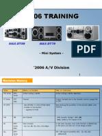 Samsung Max-dt99 Max-dt79 Max-dt55 Training