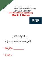 mandarin part 1 notes