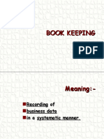 Basics of Book-keeping PPP