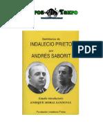 Saborit, Andres - Semblanza de Indalecio Prieto