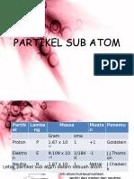 Partikel Dasar Atom