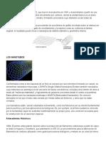Nanotubos y Fullerenos