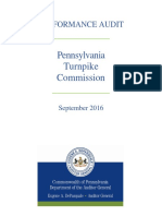 PennsylvaniaTurnpikeCommission Audit 9.6.16
