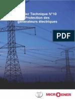 Protection Des Générateurs ÉlectriquesA