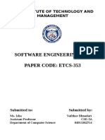 seoftware engineering