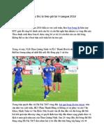 14 Cau Thu Bi Treo Gio Tai v-League 2016