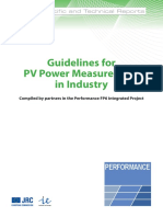 Guidelines PV Measurement-En