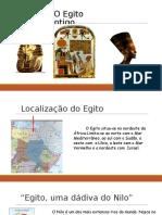 Completo O Egito Antigo Trabalho Pre-historia