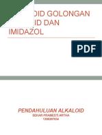 Alkaloid Steroid Dan Imidazol