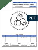 CA-AEPR-02 Procedimiento Para Embarque de Producto Terminado