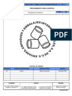 CA-AEPR-03 Procedimiento para Logística
