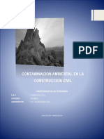 Contaminación Ambiental en Ing. Civil