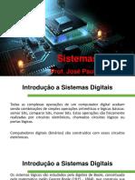 Aula 01 - Portas Lógicas - Sistemas Digitais