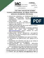 Requisitos Examenes Privados-cpa