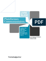 Livre Blanc - Plateformes Communautaires