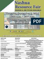 Nashua Job Fair