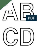 abecedario mayusculas