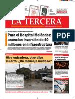 Diario La Tercera 07.09.2016