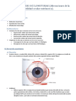 Tema 13. Paralisis Oculomotoras