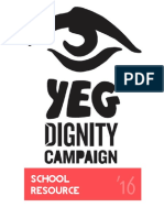 YEG Dignity Campaign 2016 School Resource