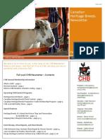 chb newsletter fall 2016