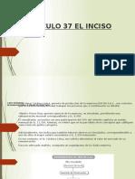 Articulo 37 El Inciso (n )