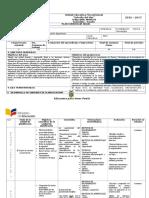 Planificación Anual Investigacion 3ero Bachillerato 2016
