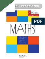 Livvre Professeur Ressources Et Pratiques Maths 2de Bac Pro Industriel a Et B Ed.2013