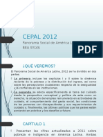 CEPAL 2012