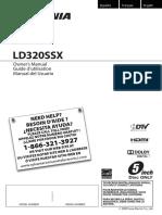 Sylvania Ld320ssx Manual