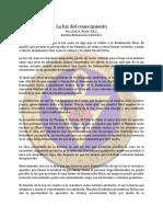 Conocimiento, La Luz Del - Mar63 - Cecil a. Poole, F.R.C.