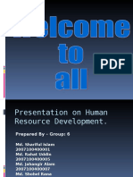 Presentation on Human Resource Development.
