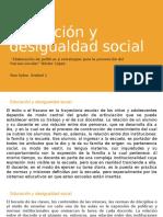 Néstor López. Educación y Desigualdad Social