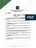 Lei do Município de Tacuru (MS) - Guarani como Língua Co-oficial