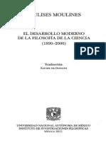 Moulines, Ulises - El Desarrollo Moderno de La Filosofia de La Ciencia