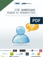 E-book Identite Numerique, enjeux et perspectives