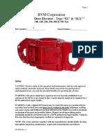 Slx Sx Elevator Maintenance Manual