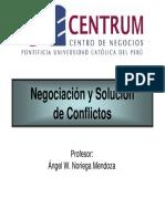 Negociación y Solución Centrum
