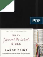 NKJV Journal the Word Large Print