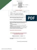 Registro de Exoneración 5 MAYO