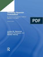 Thinking Spanish Translation for Students