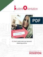 New student orientation '16 - University of Houston