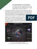 Formación de Campos Eléctricos en La Atmósfera Terrestre