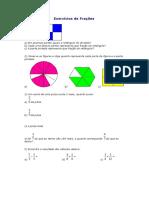 Exercícios de Frações 1MTM