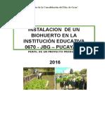 Perfil de Proyecto Pucayacu