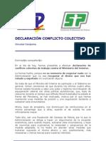 Circular Conjunta Declaracion Conflicto Colectivo