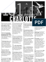 101 Things to Do in Charlotte
